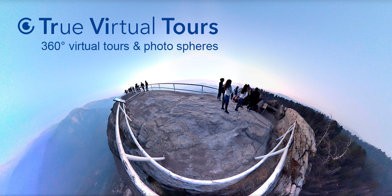 TrueVitualTours are real virtual tours and spherical panoramas